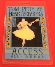 T-BIRD Tom Petty & Heartbreakers Strange Behavior Tour Laminated Backstage Pass