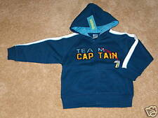 NWT GYMBOREE Varsity Football Team Captain Hoodie~3T