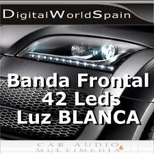 TIRA DE 42 LED FRONTALES 60cm LUZ DIURNA DAYLIGHT 12V
