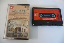 BACH SUITE N° 1 & 4. COLLEGIUM AUREUM . K7 AUDIO TAPE CASSETTE.