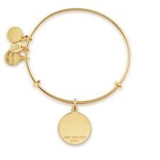 ALEX AND ANI Intitial O Charm Bangle ~ A-8