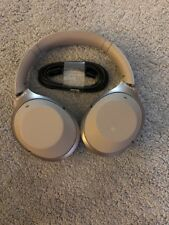 Sony WH1000XM2/N All Accessories Included Noise Cancelling Headphones (Gold)