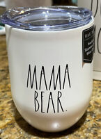 Rae Dunn - MAMA BEAR 🐻 - Insulated Stainless Steel Wine Travel Tumbler