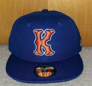 Kingsport Mets Diamond BP Navy New Era 5950 Cap Hat NWT 7 1/8