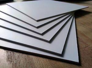 """3MM WHITE 1/8"""" SINTRA / CELTEC PVC FOAM BOARD PLASTIC"""