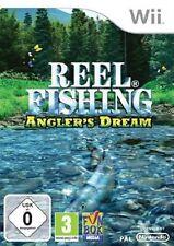Reel Fishing Angler's Dream Nintendo Wii Vintage