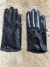 Black Driving Leather Gloves Women's Hungant Gloves