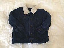 Baby Gap Toddler Boy Corduroy Jacket size 4T blue