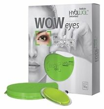 Hyalual WOW Eyes Re-usable Eye GEL Pads Soothing and Cooling With Container