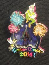 DISNEY DREAMS HAPPY NEW YEAR 2014 PIN - PETER PAN TINKER BELL LE 600