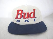 Vintage Official Product Bud Ski Embroidered Trucker One Size Hat (Made in Usa)