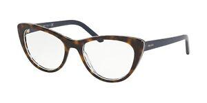 PRADA MILLENNIUM EVOLUTION PR 05XV Dark Havana (512-1O1) Eyeglasses