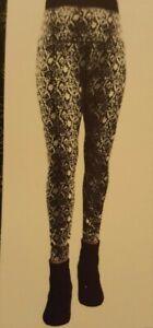 NEW Casablanca by Marrakech Women's Printed Seamless Leggings Size Medium