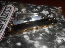 NEW - Gotoh 510FA Stop Tailpiece GOLD ALUMINUM
