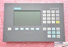 Siemens Sinumerik 840D Bedientafel OP 030 Typ: 6FC5203-0AB00-0AA0  E: F