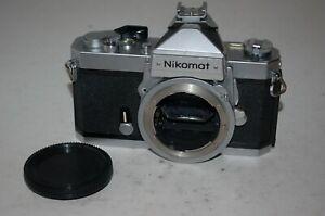 Nikomat FTN Vintage 1960s Japanese SLR Camera. Working Fine. 4582434. UK Sale