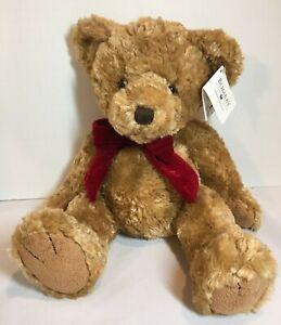 "Gilmore Bombay The Soft Tan Teddy Bear 16"" Plush Toy Stuffed Animal."