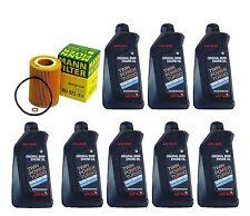 8-Quarts Genuine Synthetic Bmw 5w30 Motor Oil &1-oem MANN Oil Filter for BMW