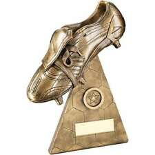 GOLDEN BOOT FOOTBALL TROPHY AWARD MAN OF THE MATCH FREE ENGRAVING RF425B B20