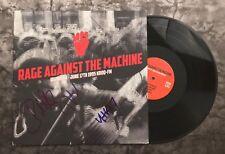 Gfa Tom Morello Band x3 * Rage Against The Machine * Signed Record Album R1 Coa