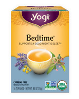 1box Yogi Bedtime Herbal Supplement Supports a good night's sleep