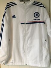 Chelsea Football White 2013/14 Training Jacket  New Size 44/46  L XL Merchandise