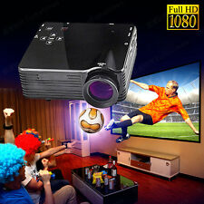 Brand New HD Home Theater Multimedia LCD LED Projector 1080P HDMI USB DVD TV