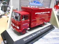 MERCEDES LKW LP608 Renn Service Porsche Renndienst Racing Premium Classixx  1:43