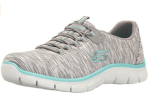 Mismatched Skechers Womens Empire Game  Air Cooled Memory foam Shoes 12414