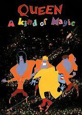 Queen 1986 A Kind Of Magic Tour European Concert Program Book / Nmt 2 Mint