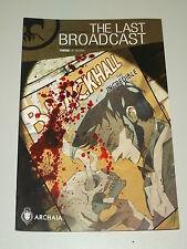 LAST BROADCAST #3 ARCHAIA COMICS JULY 2014 NM (9.4)