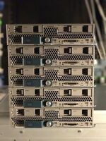 Cisco B200 M3 Two E5-2630V2 8x 16GB 128GB Ram Blade Server VIC1240 14900R 2x SFF