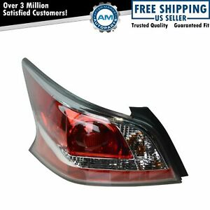 Left Tail Light Drivers Side Taillamp w/o LED For 2014-2015 Nissan Altima