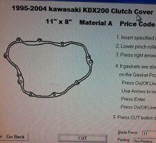 Kawasaki KDX200  Clutch cover Gasket 1995 1996 1997 1998 1999 2000 2001 2002