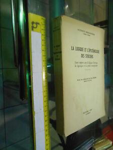 LIBRO:La Logique et l'épistémologie des stoïciens-Virieux-Reymond ()1949