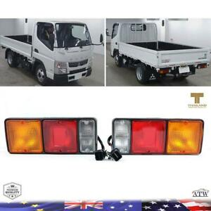 Fit 1994+ Mitsubishi Fuso 355 Canter Fe Fb511 Tail Lamp Light Pair Truck