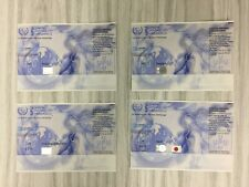Irc - Nairobi Type (Brazil, Belgium, Usa & Japan), Total 4 Pcs (All Center Fold)