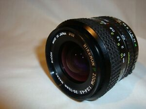 Ricoh Rikenon P 35-70mm Macro Zoom  Lens, Pentax K Mt. – Tested, With Lens Caps