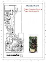 Marantz PM7200 (Protection Repair Kit) & Power Panel Upgrade .
