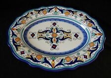 San Marino Blue Serving Platter Pier 1 Imports Dertuta Italian Style