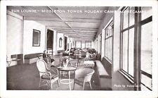 Morecambe. Middleton Tower Holiday Camp. Sun Lounge by Valentine.