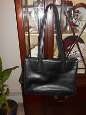 Jones of New York Leather Carryall, Briefcase, Laptop or I Pad Carrier