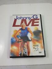 NEW! ~ Johnny G Live Spinning Cycling System (DVD, 2003, Fullscreen) Free ship