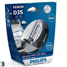 PHILIPS D3S WHITEVISION gen2 XENON HEADLIGHT bulbo HID 5000K 42403WHV2S1 1 PEZZI