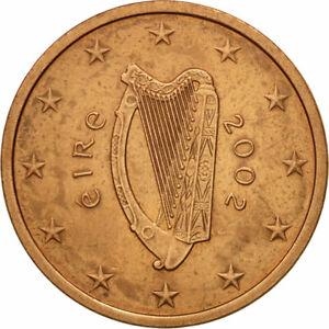 [#582346] IRELAND REPUBLIC, 5 Euro Cent, 2002, TTB, Copper Plated Steel, KM:34