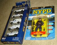 TWO NEW NYPD COLLECTIBLES,NYPD GIFT PACK & NYPD AMERICA'S FINEST BILL LAW FIGURE
