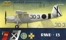 RWD-13 (SPANISH AF, ROMANIAN AF & POLISH MARKINGS) 1/72 ARDPOL RESIN (pzl)