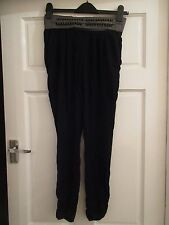 WOMEN'S RIVER ISLAND TROUSERS WORK, SIZE 6, CREPE STYLE