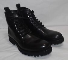 KENNETH COLE Black Label Lucky Day Leather Boot, Men's Size 7 Medium Black, $395