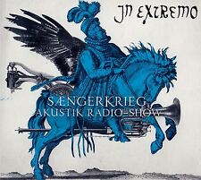 IN-EXTREMO : SÄNGERKRIEG - AKUSTIK RADIO-SHOW / CD + DVD SET - TOP-ZUSTAND
